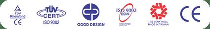 các logo chất lượng sản phẩm